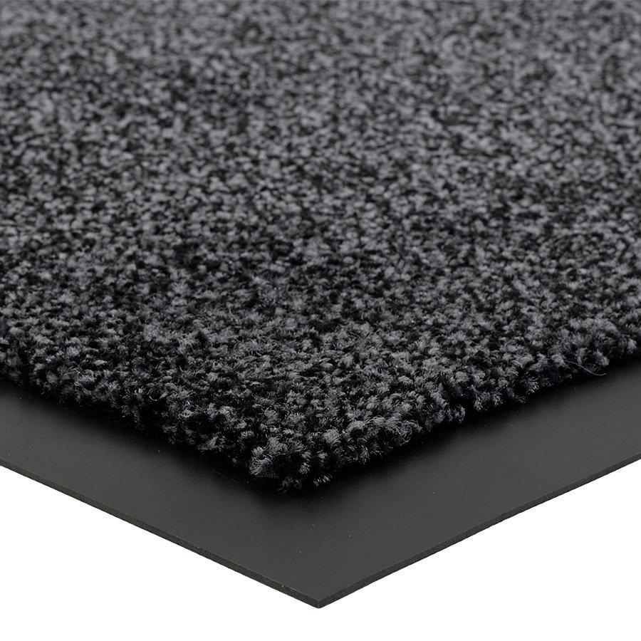 Grafitová metrážová čistící vnitřní vstupní rohož (lem - 2 strany) Briljant, FLOMA (Bfl-S1) - délka 1 cm a výška 0,9 cm
