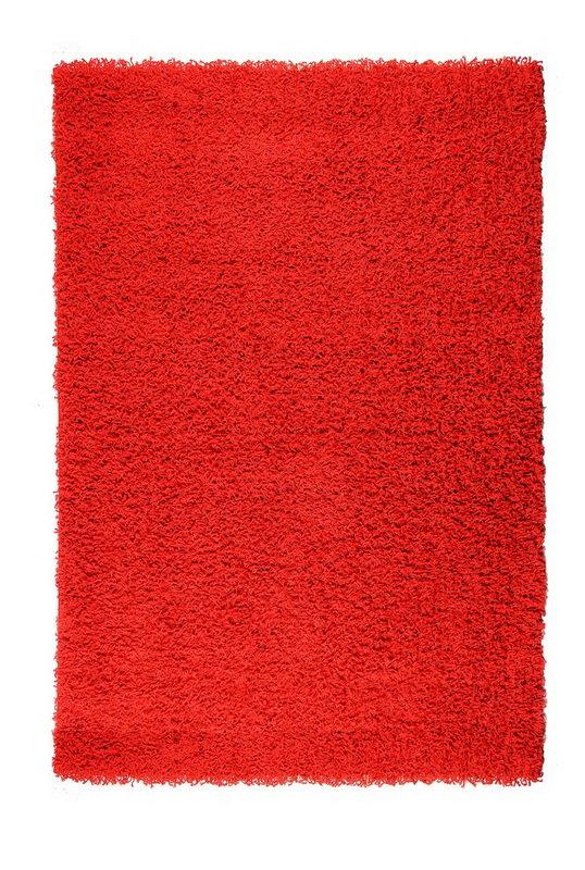 Červený kusový koberec Prim - délka 290 cm a šířka 200 cm