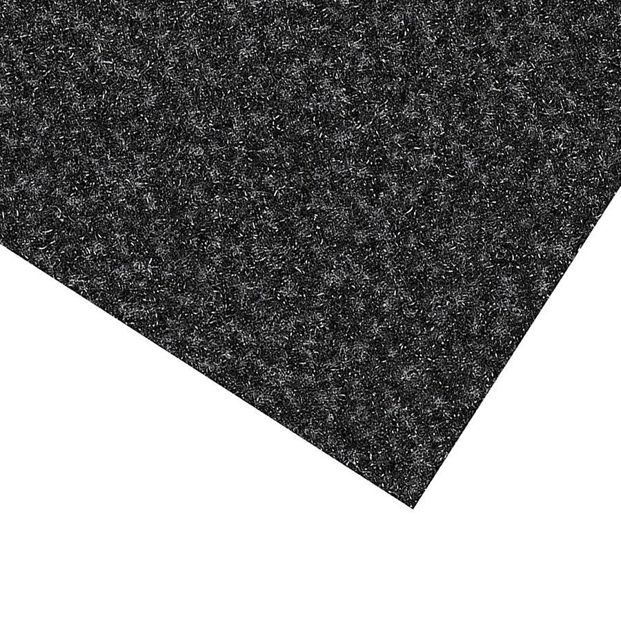 Černá kobercová vnitřní čistící zóna Valeria, FLOMA (Bfl-S1) - výška 0,9 cm