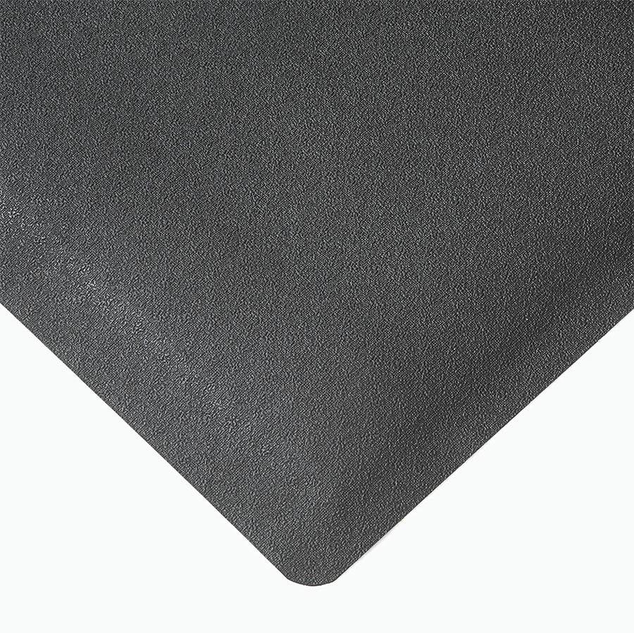 Černá protiúnavová průmyslová rohož pro svářeče Pebble Trax - výška 1,27 cm