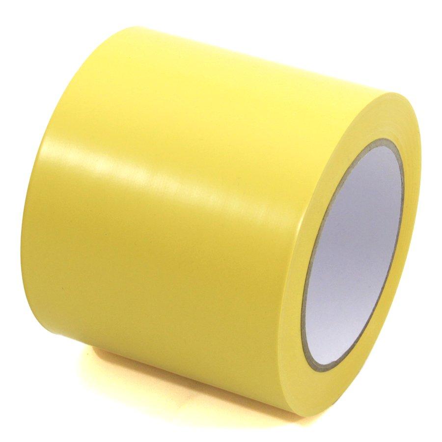 Žlutá vyznačovací páska Standard - délka 33 m a šířka 10 cm