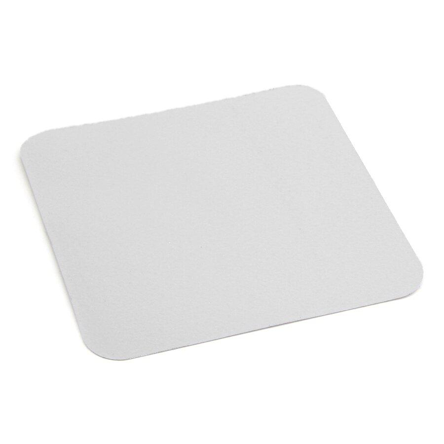 Bílá korundová protiskluzová podlahová páska - délka 14 cm, šířka 14 cm a tloušťka 0,7 mm