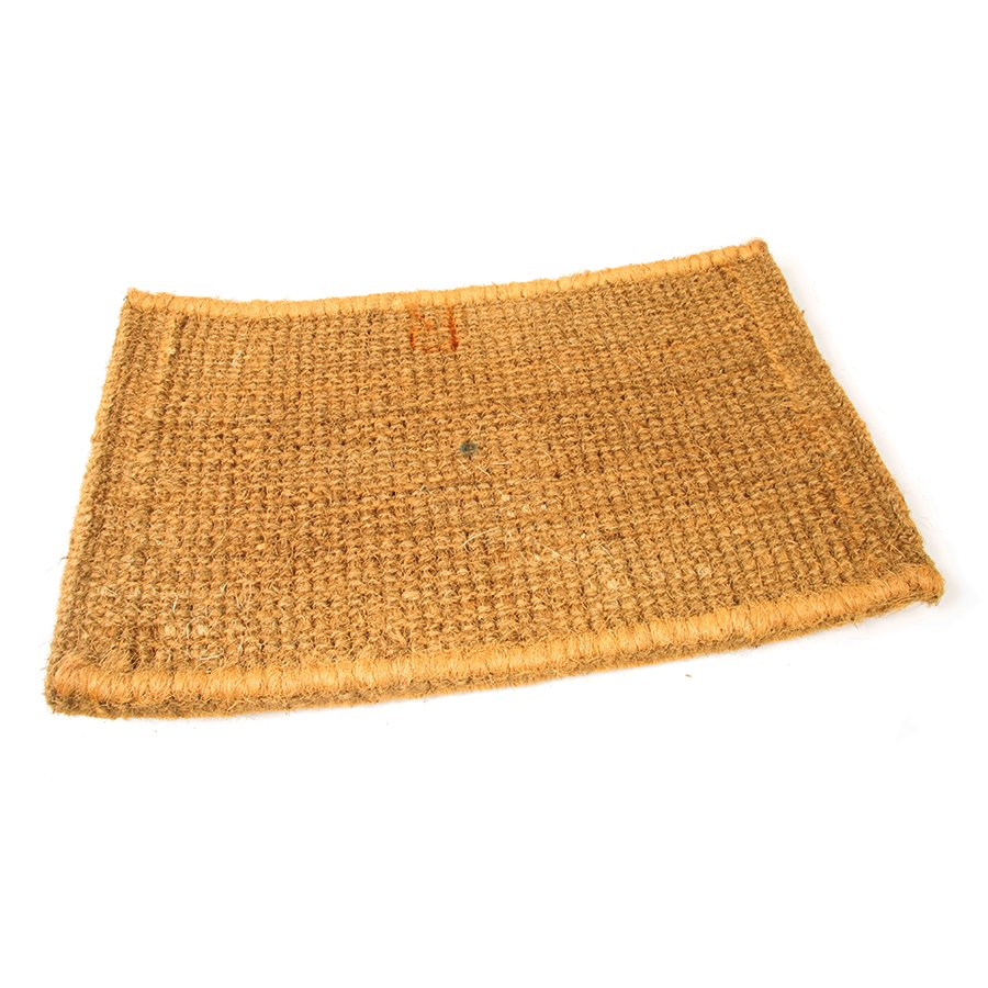 Kokosová vstupní venkovní čistící rohož Stairs, FLOMA - délka 45 cm, šířka 75 cm a výška 4,7 cm