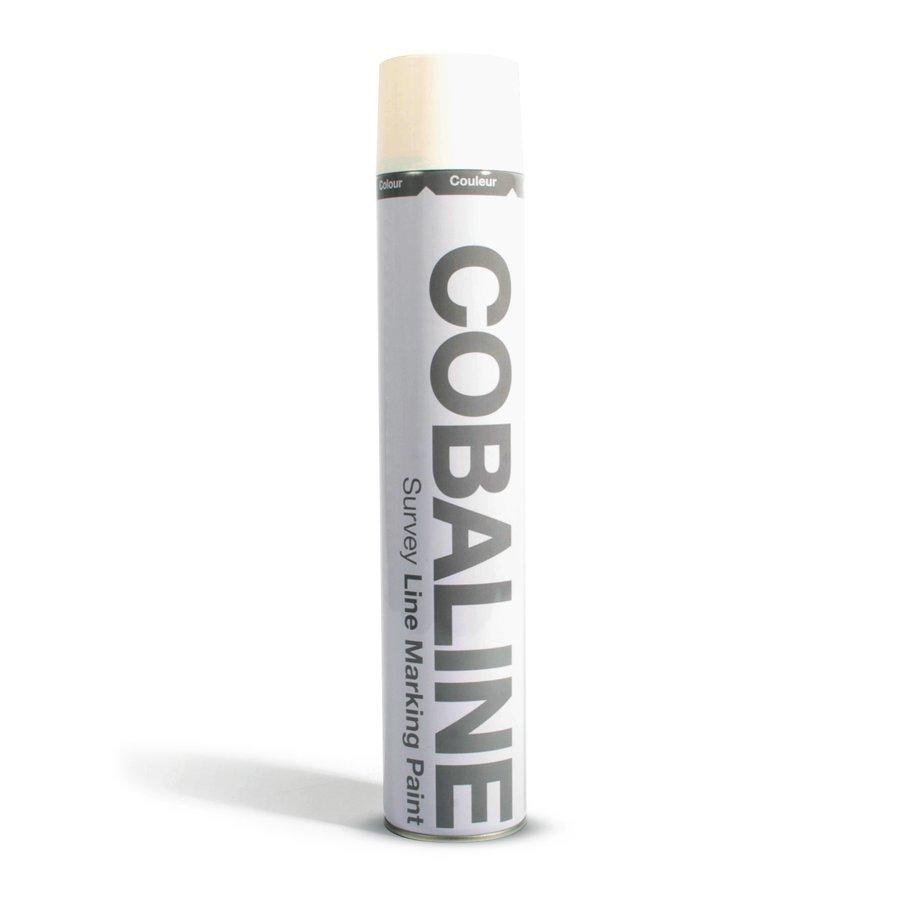 Bílá počasí vzdorná rychleschnoucí barva ve spreji - objem 750 ml