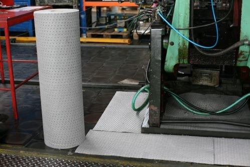Univerzální střední odolný sorpční koberec - délka 40 m a šířka 100 cm