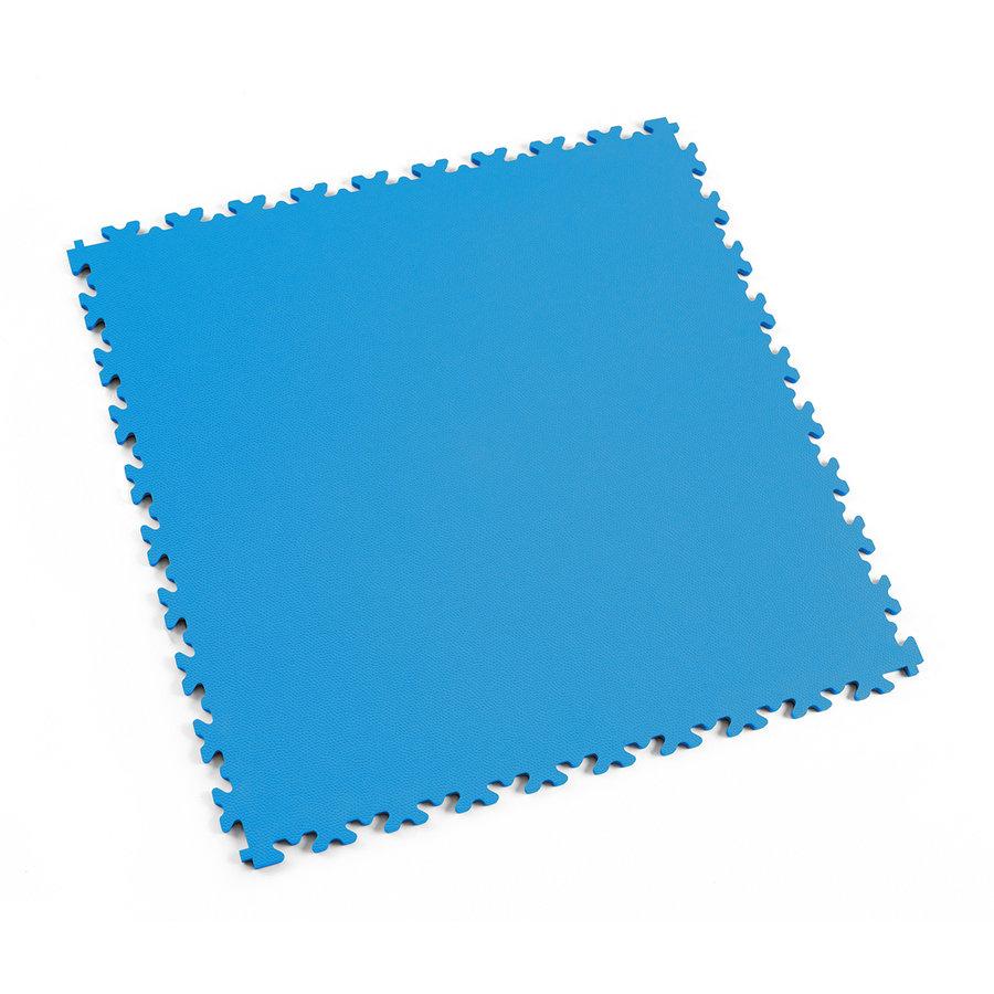 Modrá vinylová plastová dlaždice Light 2060 (kůže), Fortelock, 02 - délka 51 cm, šířka 51 cm a výška 0,7 cm