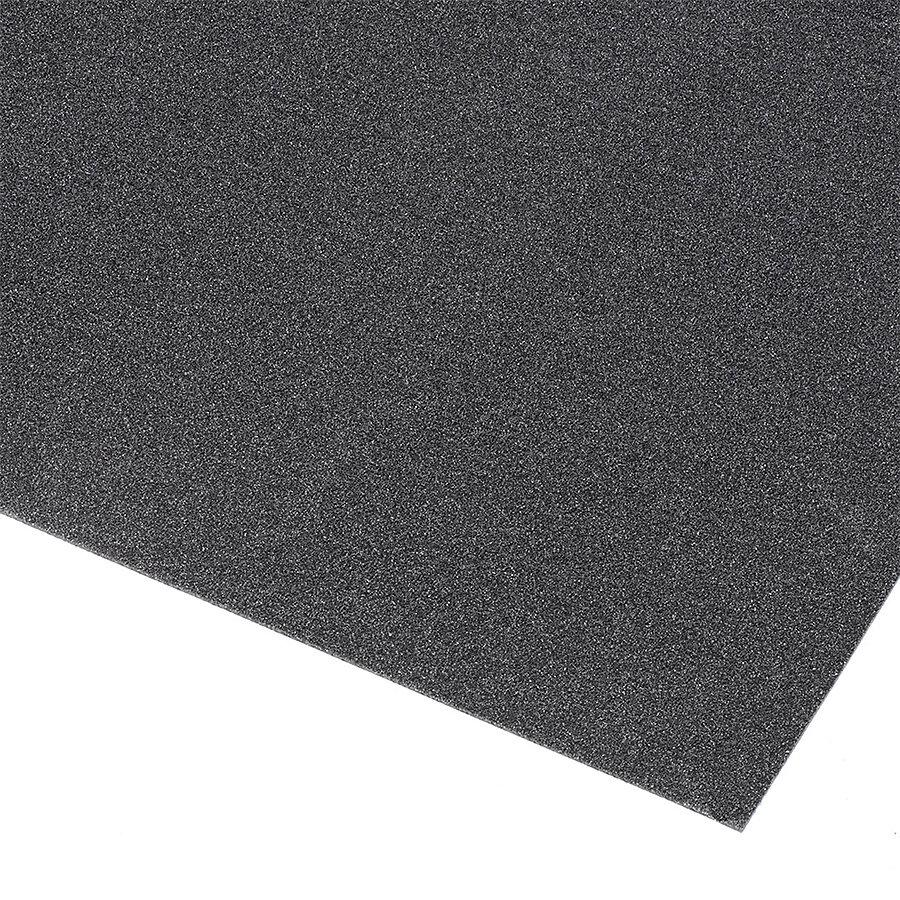 Černá olejivzdorná protiskluzová průmyslová rohož Grit Trax - šířka 90 cm a výška 0,21 cm