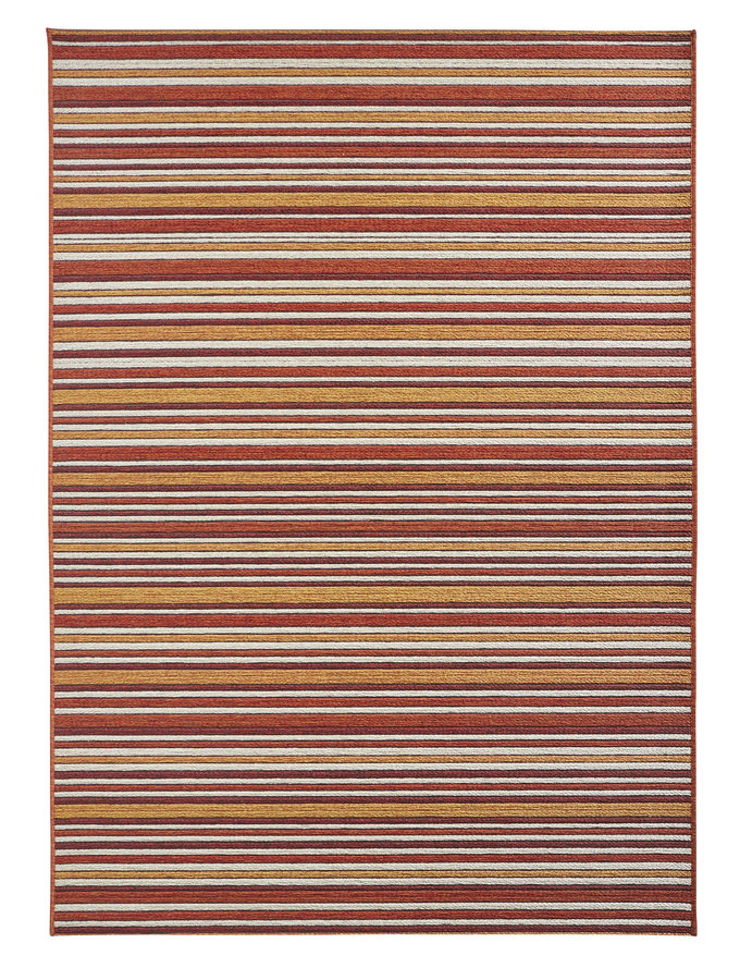 Červený kusový koberec Lotus - délka 230 cm a šířka 160 cm