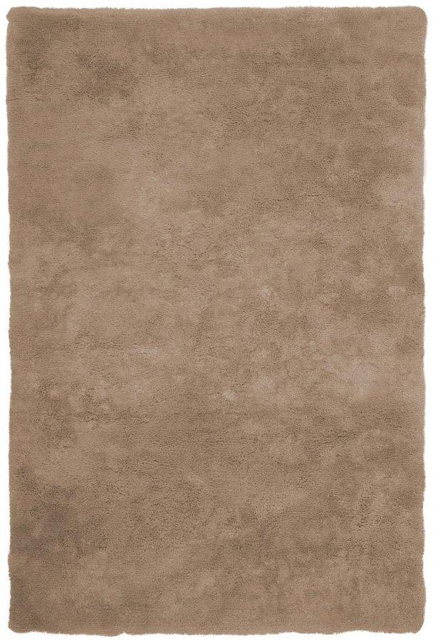 Hnědý kusový koberec Curacao - délka 150 cm a šířka 80 cm