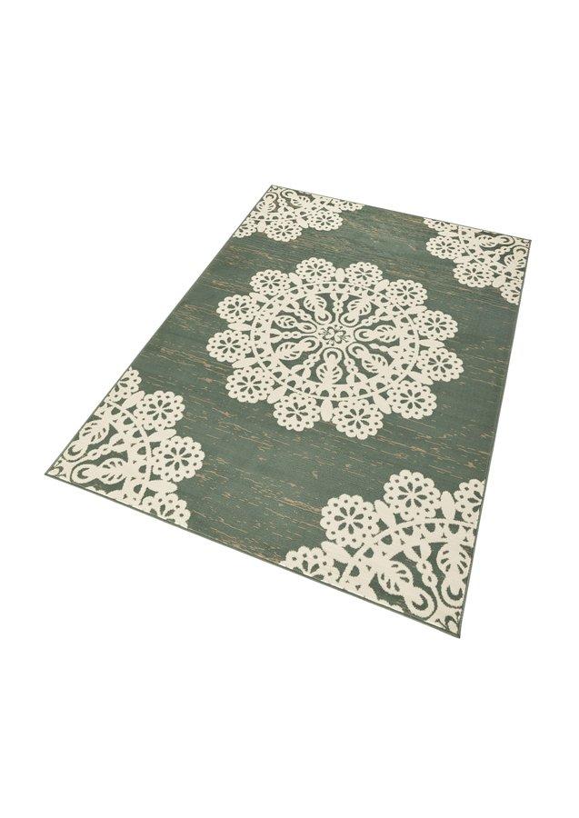 Zelený moderní kusový koberec Gloria - délka 150 cm a šířka 80 cm