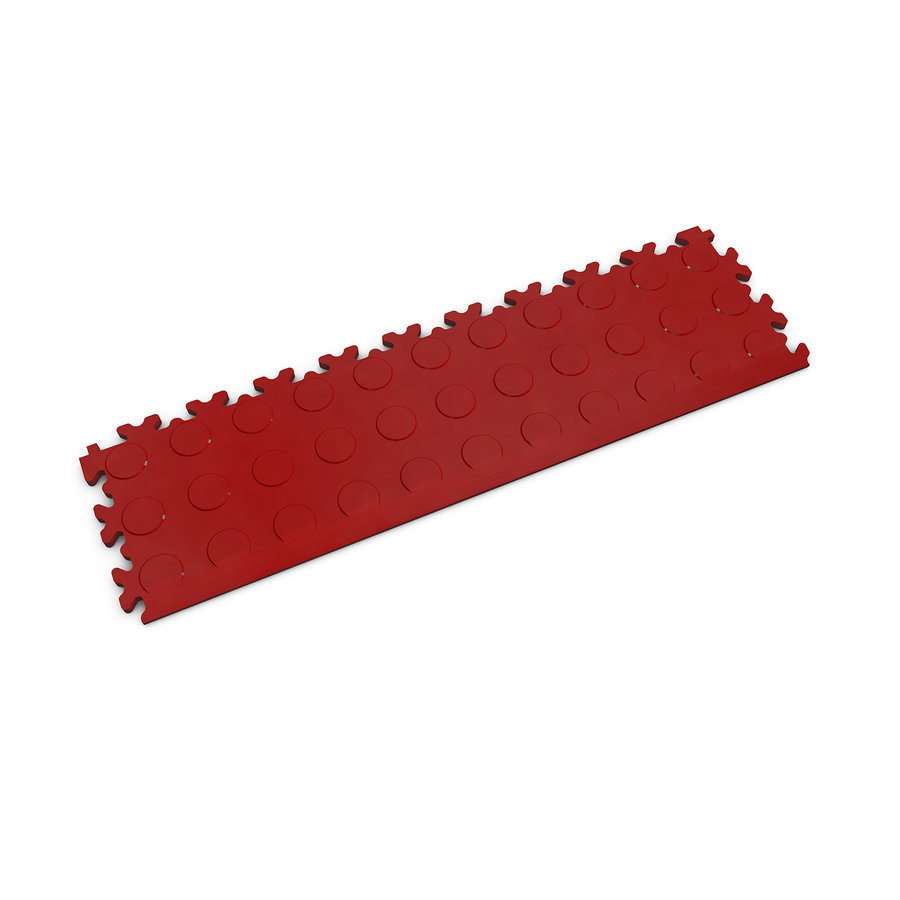 Červený vinylový plastový nájezd 2045 (penízky), Fortelock - délka 51 cm, šířka 14 cm a výška 0,7 cm