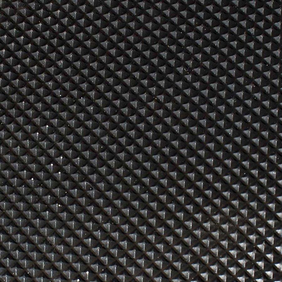 Černá gumová průmyslová protiúnavová rohož - délka 18,3 m, šířka 90 cm a výška 1,25 cm