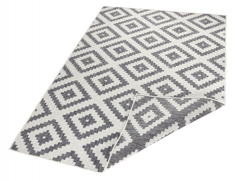 Béžovo-šedý kusový moderní oboustranný koberec Twin-Wendeteppiche - délka 290 cm a šířka 200 cm