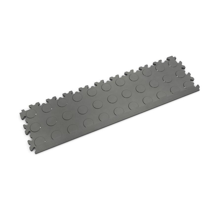 Grafitový vinylový plastový nájezd Fortelock 2045 (penízky) - délka 51 cm, šířka 14 cm a výška 0,7 cm
