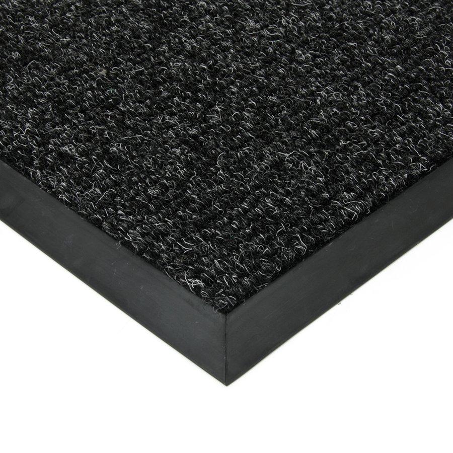 Černá textilní zátěžová čistící vnitřní vstupní rohož Catrine, FLOMAT, 01 - výška 1,35 cm