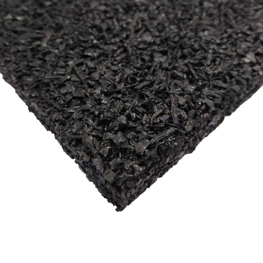 Antivibrační elastická tlumící rohož (deska) ze směsi granulátu a drásaniny FS700, FLOMA - délka 200 cm, šířka 100 cm a výška 5 cm