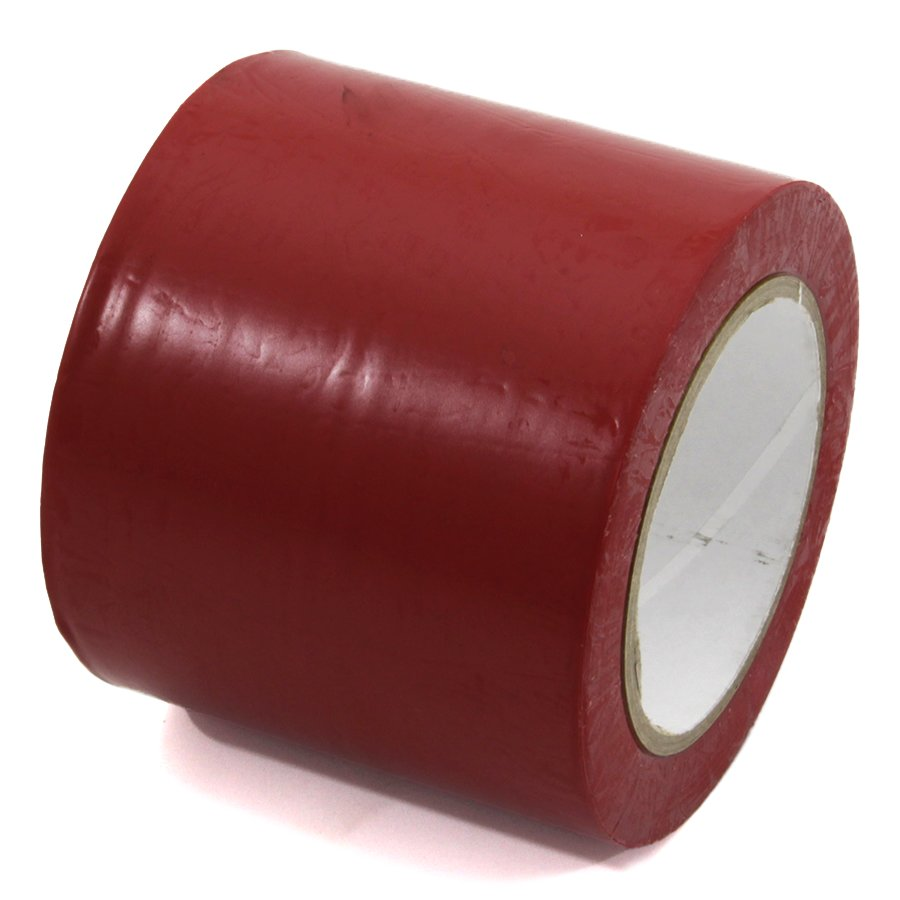 Červená vyznačovací páska Standard - délka 33 m a šířka 10 cm