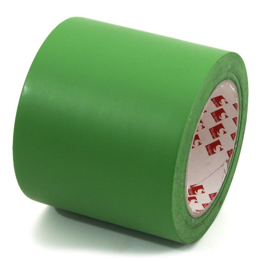 Zelená vyznačovací páska Super - délka 33 m a šířka 10 cm