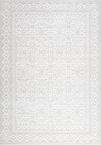 Šedý kusový koberec Piazzo