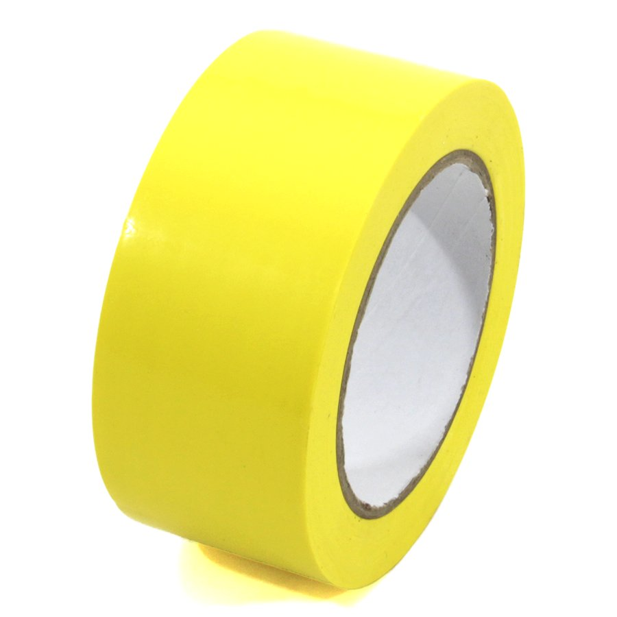 Žlutá vyznačovací páska Standard - délka 33 m a šířka 5 cm