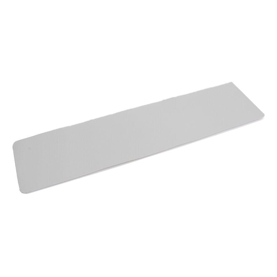 Plastová průhledná voděodolná protiskluzová podlahová páska - délka 61 cm, šířka 15 cm a tloušťka 0,7 mm