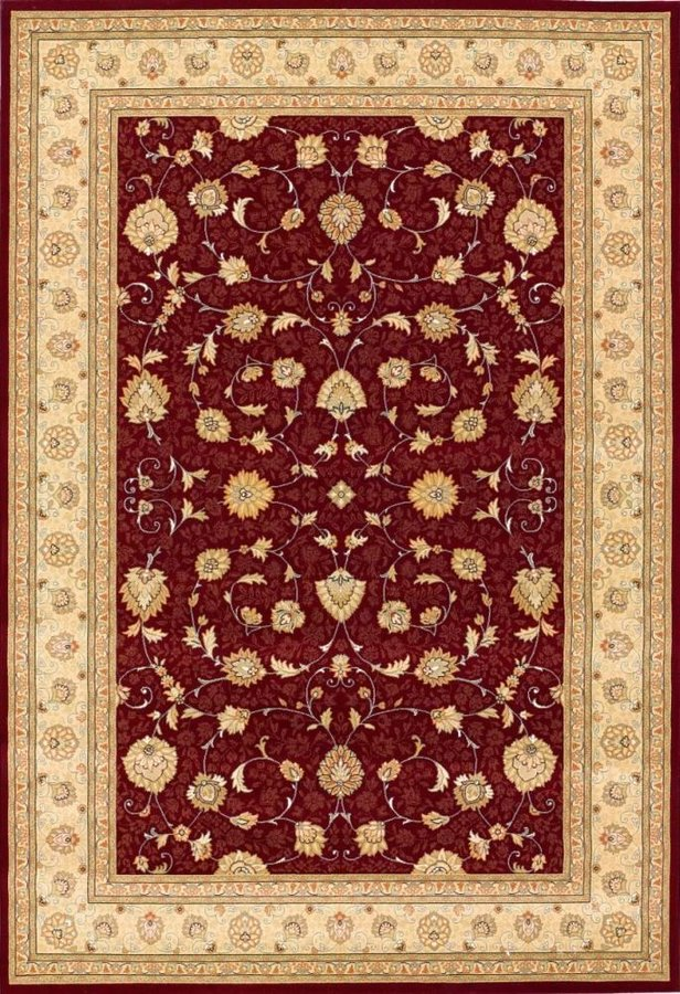Červený orientální kusový koberec Nobility - délka 200 cm a šířka 135 cm