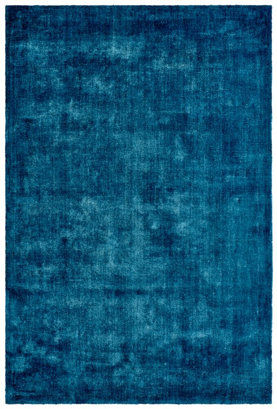 Modrý kusový koberec Breeze of Obsession - délka 150 cm a šířka 80 cm