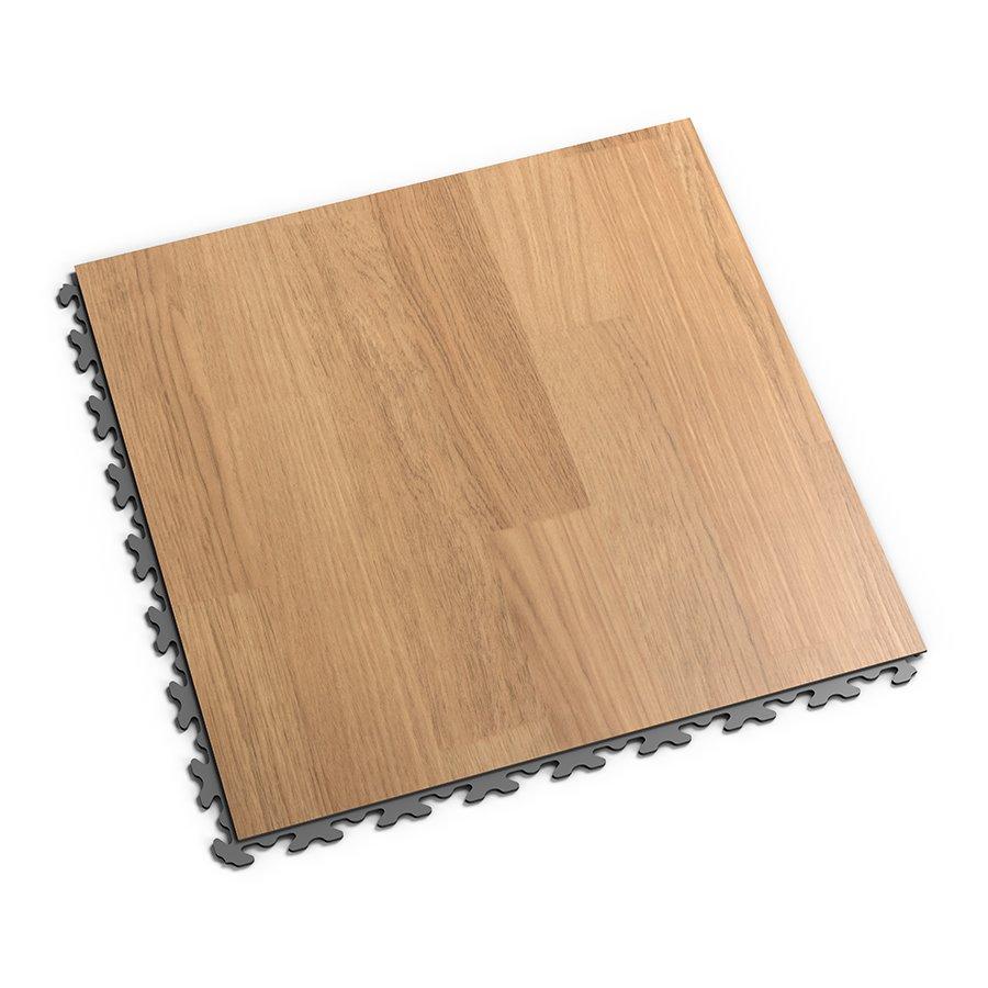 Hnědá vinylová plastová dlaždice Fortelock Home Decor 2110 - délka 47,2 cm, šířka 47,2 cm a výška 0,65 cm