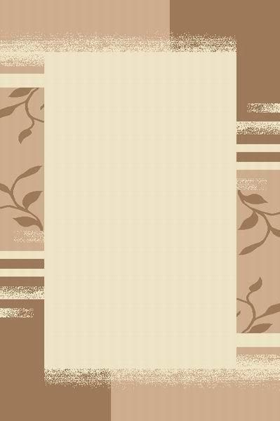 Světle hnědý kusový moderní koberec Camea