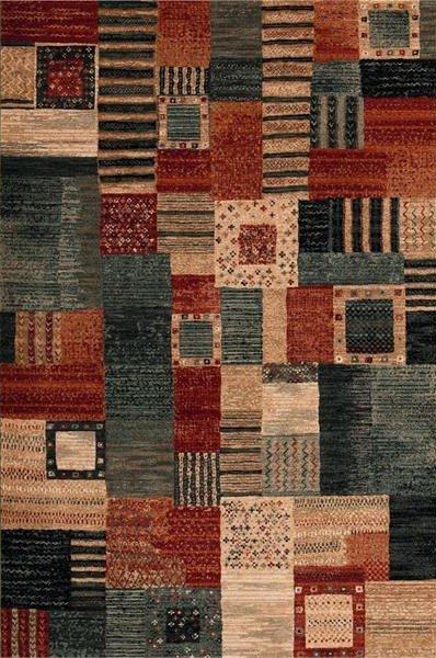 Různobarevný kusový koberec Kashqai - délka 160 cm a šířka 80 cm