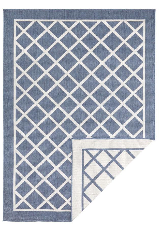 Modrý oboustranný moderní koberec Twin-Supreme, Sydney