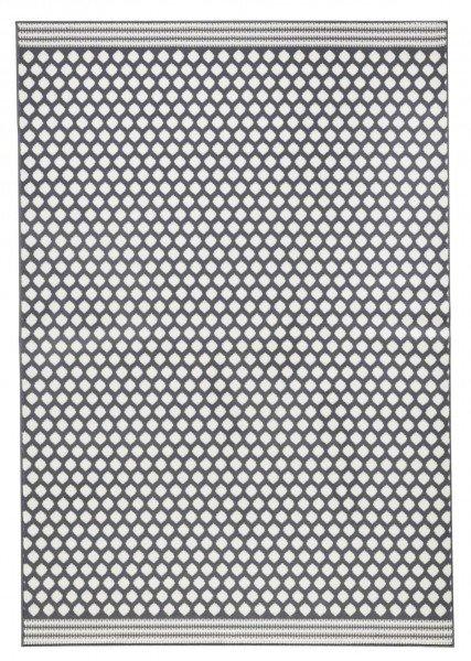 Šedý kusový moderní koberec Capri - délka 140 cm a šířka 70 cm
