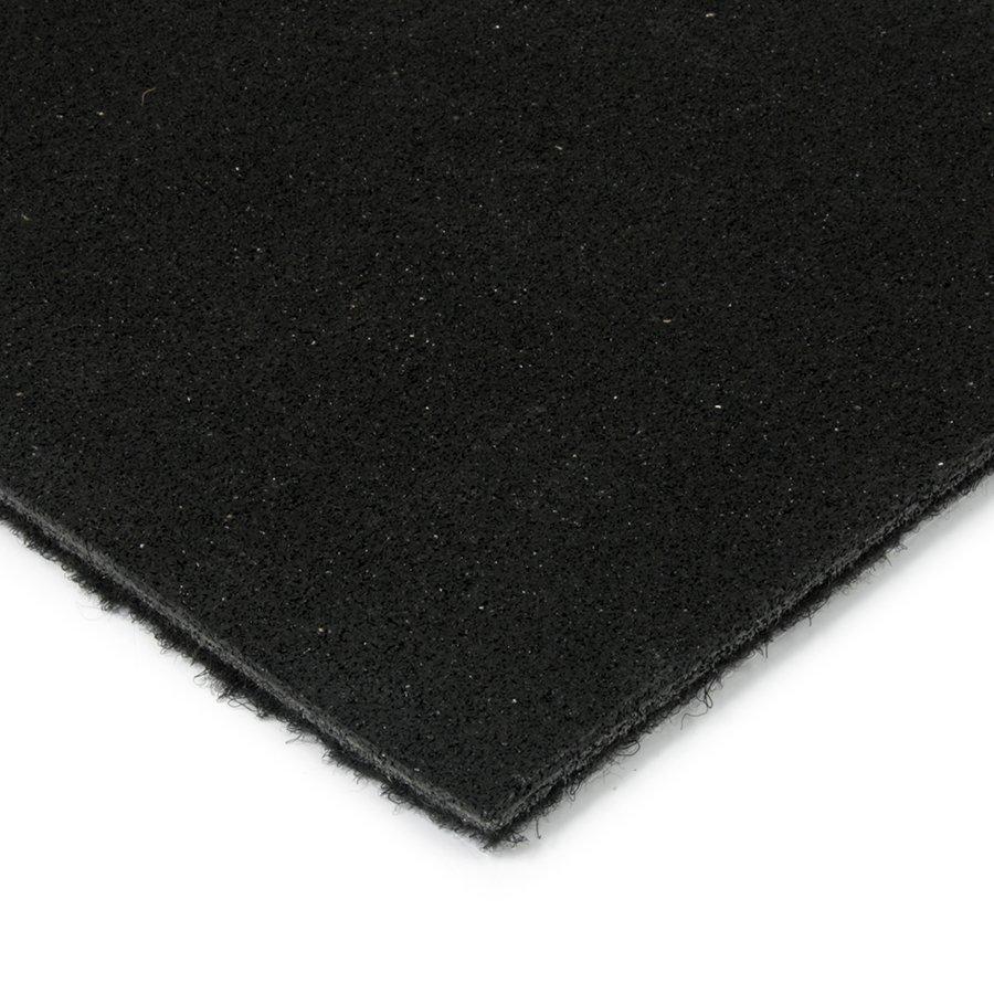 Černá kokosová zátěžová čistící zóna FLOMA Synthetic Coco - délka 150 cm a výška 1 cm