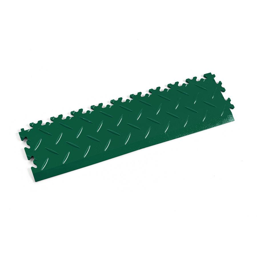 Zelený vinylový plastový nájezd 2015 (diamant), Fortelock - délka 51 cm, šířka 14 cm a výška 0,7 cm