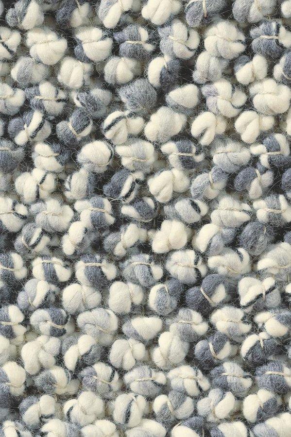 Šedý kusový luxusní koberec Marble