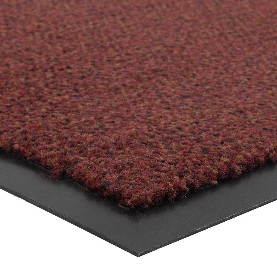 Červená metrážová čistící vnitřní vstupní rohož (lem - 2 strany) Portal, FLOMA (Cfl-S1) - délka 1 cm a výška 0,75 cm