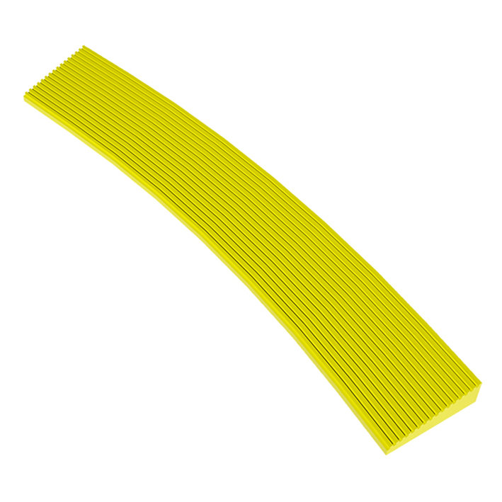 Žlutá náběhová vnitřní hrana Skywalker HD o-Curve Safety Ramp, Nitrile
