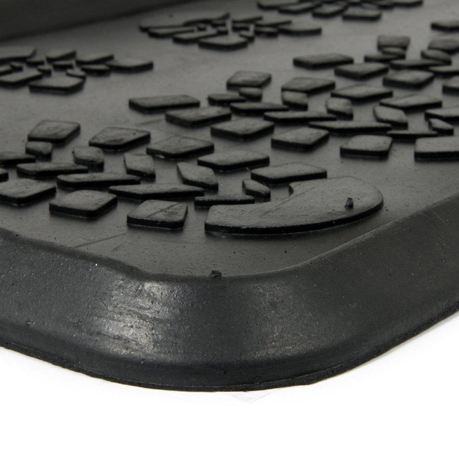 Gumový odkapávač na boty Shoes, FLOMA - délka 40 cm, šířka 80 cm a výška 2,3 cm