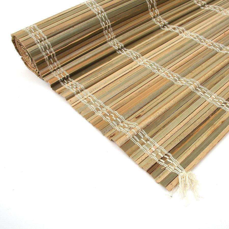 """Palmová rohož na zeď """"štípané palmové dřevo"""" - délka 200 cm"""