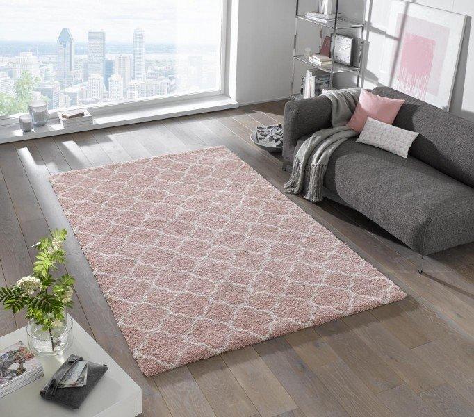 Růžový moderní kusový koberec Grace - délka 230 cm a šířka 160 cm