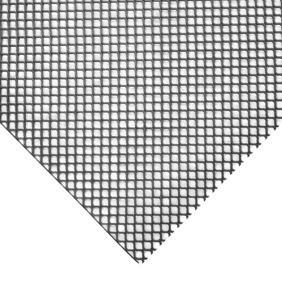 Šedá protiskluzová univerzální rohož - šířka 100 cm a výška 0,85 cm