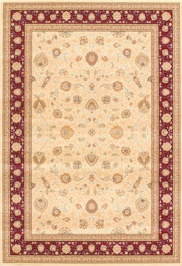 Béžový orientální kusový koberec Nobility - délka 200 cm a šířka 135 cm