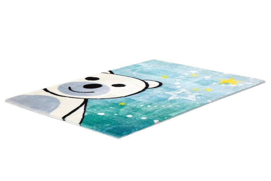 Různobarevný kusový dětský koberec Lollipop - délka 130 cm a šířka 90 cm