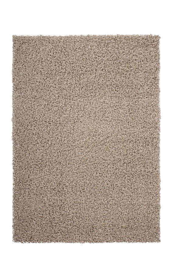 Béžový kusový koberec Funky - délka 170 cm a šířka 120 cm