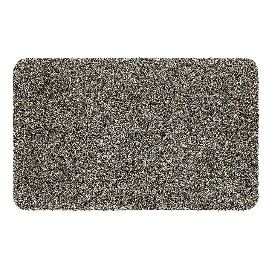 Světle hnědá metrážová čistící vnitřní vstupní pratelná rohož Natuflex, FLOMA - délka 1 cm a výška 0,6 cm