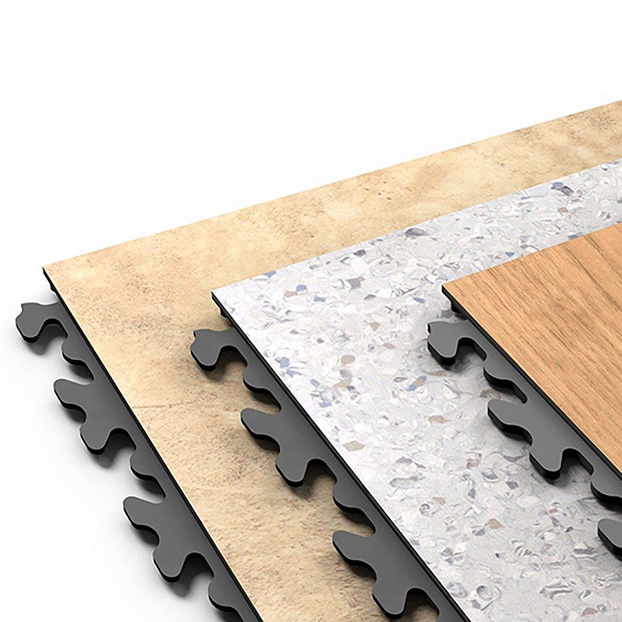 Plastové dlaždice Fortelock - verze Business Decor, Solid Decor, Home Decor.