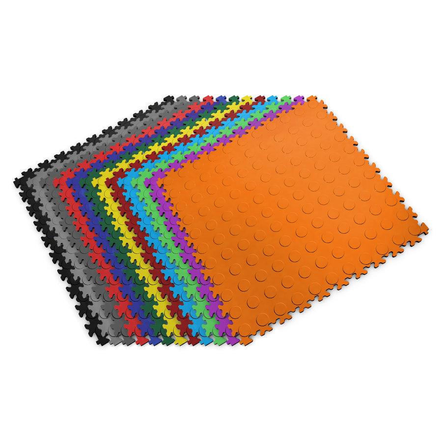 Plastové dlaždice Fortelock - barevná škála verzí Industry nebo Light.