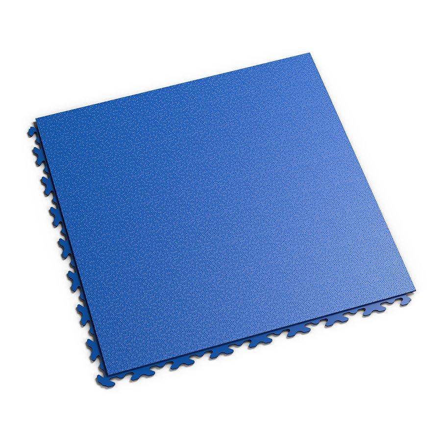 Plastová dlaždice Fortelock Invisible - modrá barva, dezén hadí kůže.